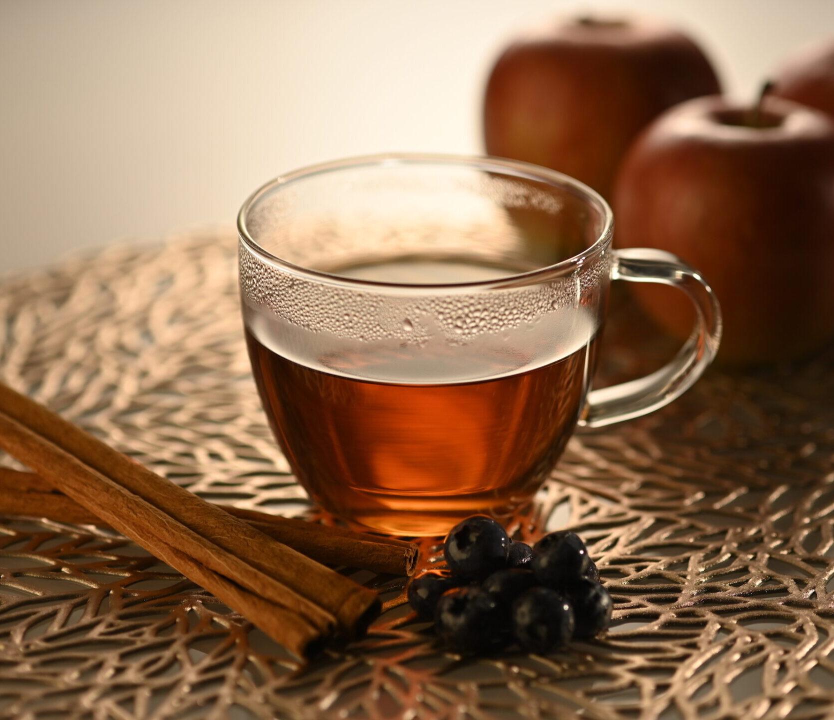 Blueberry Apple Cinnamon Tea