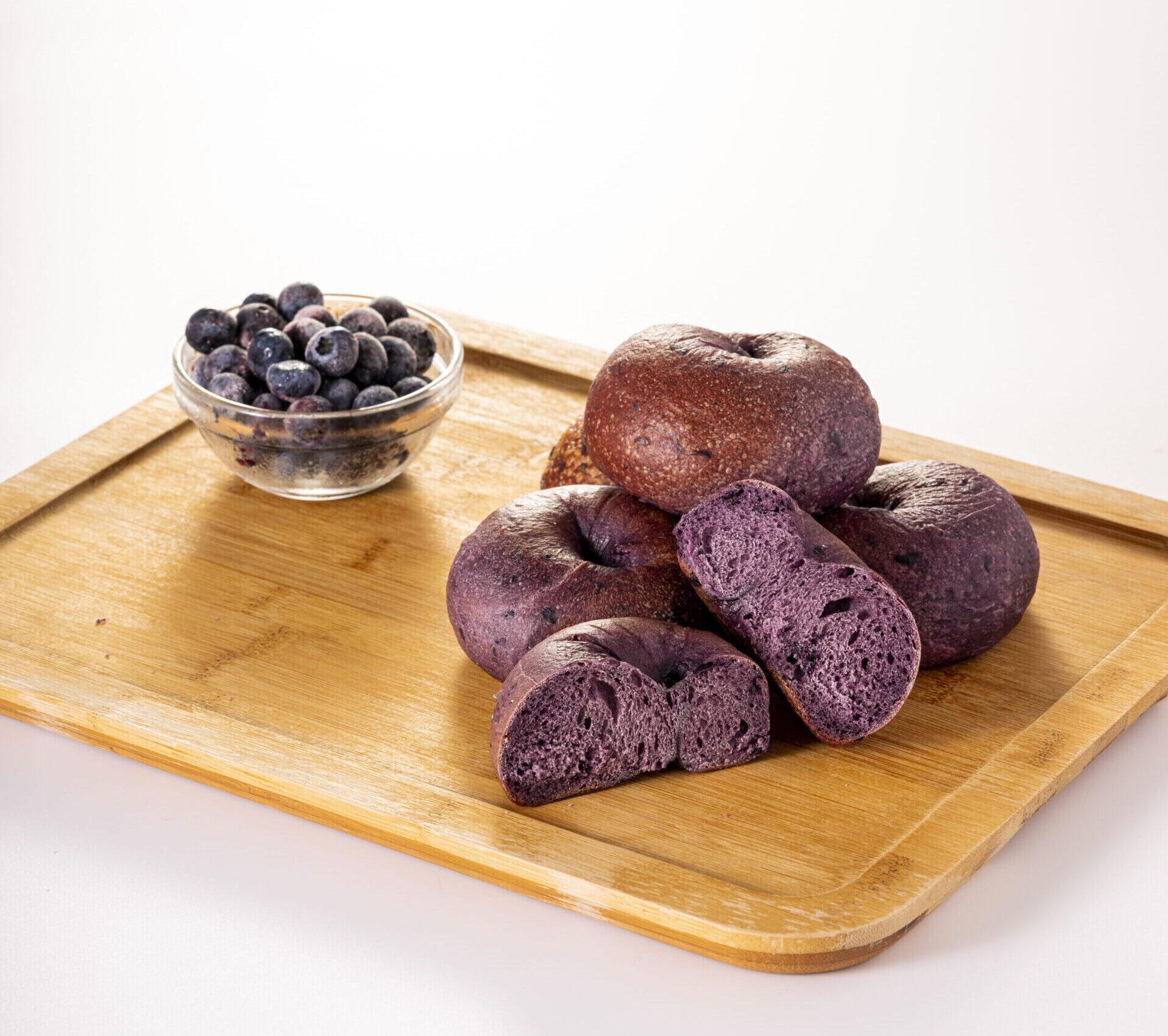 Bluberry Bagel