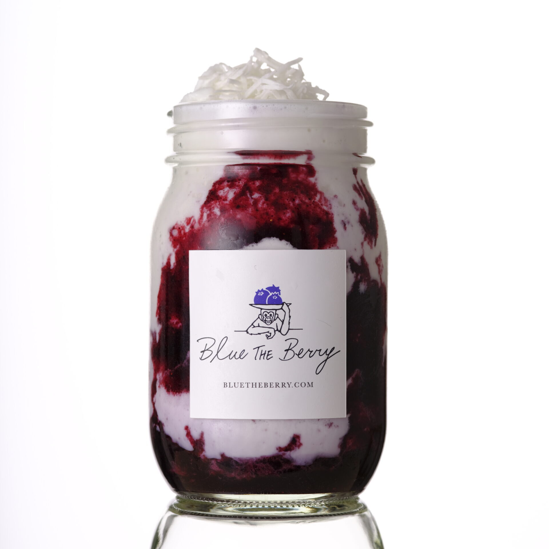 Blueberry Coconut Shake